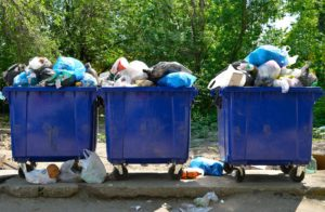 Residdential garbage